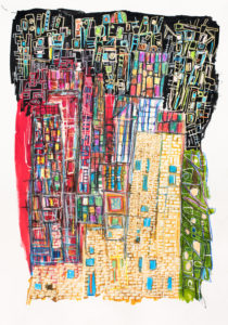 hundertwasser art kunst akvarel jens haubek kunstkøb